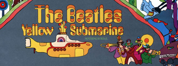 """We all live in a (digitally remastered) yellow submarine"""
